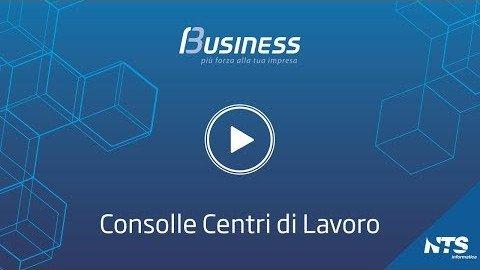 Business Cube Consolle Centri di Lavoro